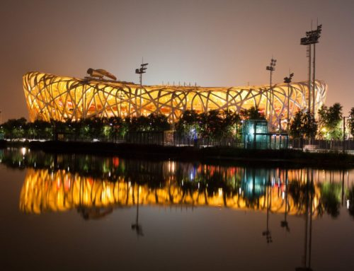 Air0 at Bird's Nest stadium in Beijing